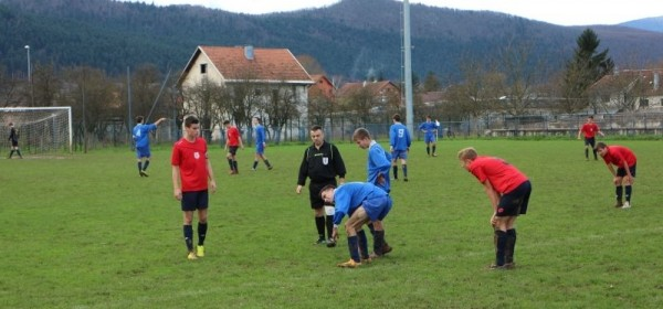 Županijska nogometna liga 11.kolo, Otočac jesenski prvak !