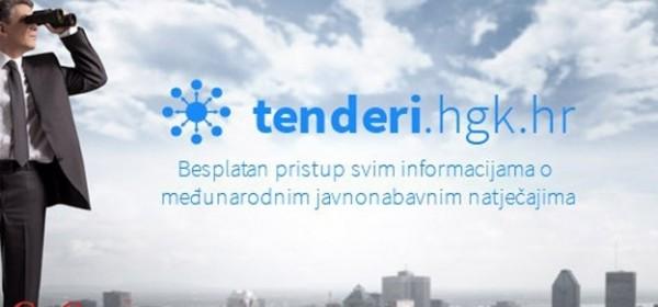 Tenderi.hgk.hr - nova usluga Hrvatske gospodarske komore