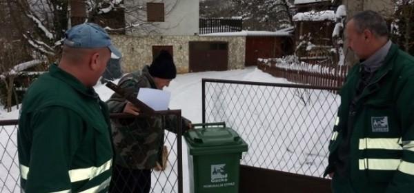 Čipirane kante za smeće se naveliko raspodjeljuju