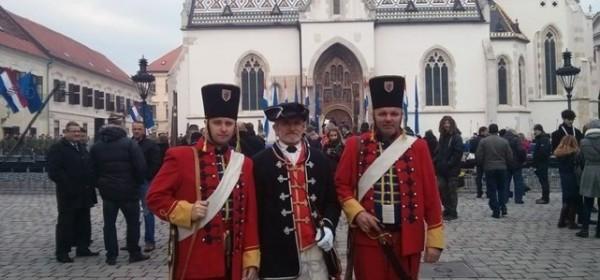 S generalne probe ustoličenja hrvatske Predsjednice