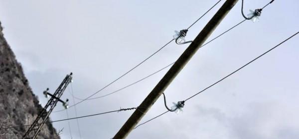Bura ostavila dobar dio županije bez struje