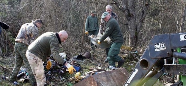 "Lovci ""Ravne gore"" Sinac u čišćenju okoliša"