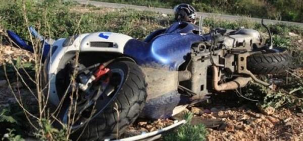 Austrijanac završio s motorom u grabi