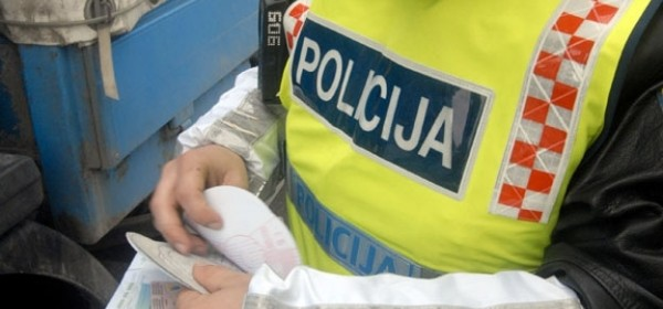 Otvaranje prostorija Privremene prometne policije u Perušiću