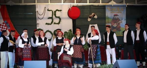 O 35. obljetnici KUU Gacka iz Lešća