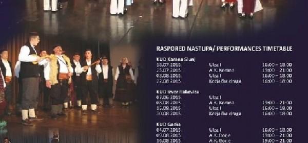 Ljeto folklora na Plitvičkima jezerima