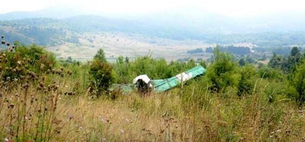 Jutros pao zrakoplovčić u Krugama kod Donjega Lapca