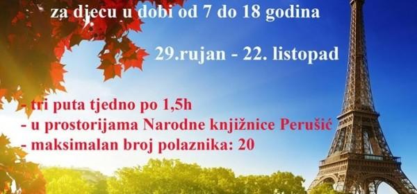 Škola francuskoga jezika u Perušiću
