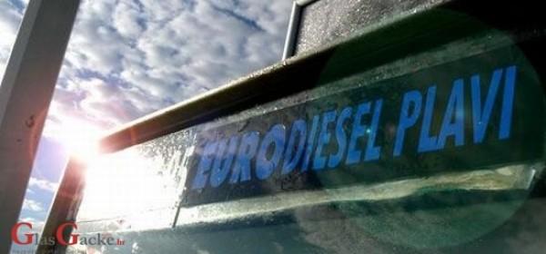 Od danas plavi dizel za poljoprivrednike i u Brinju