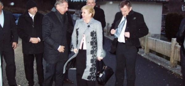 Kolinda Grabar Kitarović u Senju
