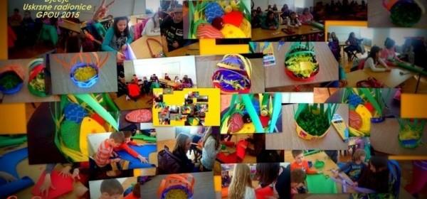 Započele uskrsne radionice za djecu u GPOU-u Otočac