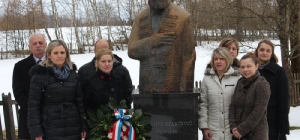 Obilježena 119. godišnjica smrti OCA DOMOVINE dr. Ante Starčevića