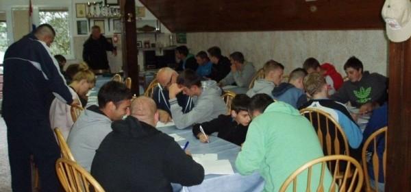 Ribolovnom ispitu pristupilo 22 kandidata