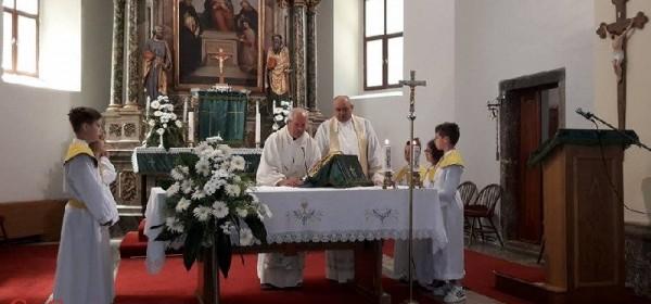 Služena misa zadušnica za Matu Čopa i vlč.Tonu Cvitkovića