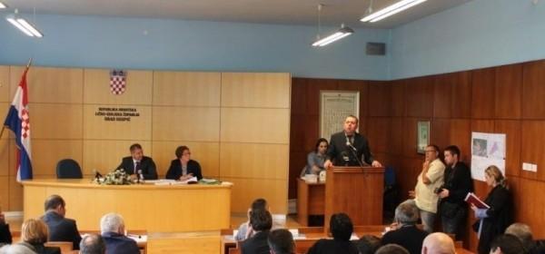 Obavijest o pomicanju održavanju sjednice Županijske skupštine