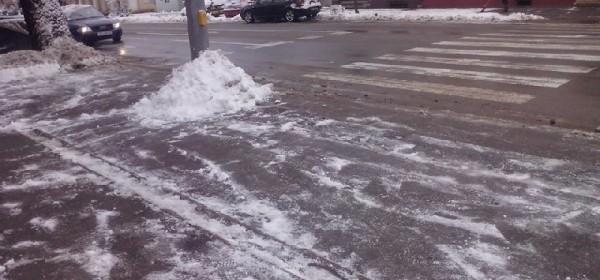 Lopate u ruke - čišćenje snijega !