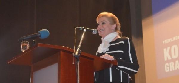 Kolinda u Gospiću: Hrvatska se danas crveni od srama
