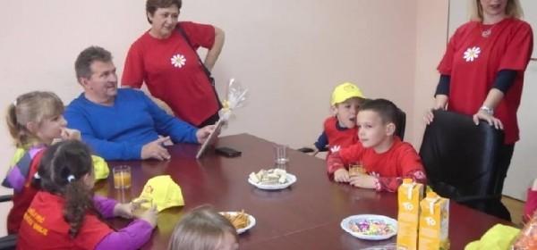 Posjet Dječjeg vrtića Tratinčica načelniku Općine