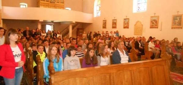 U Brinju misa za početak školske godine