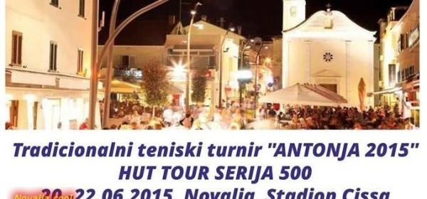 Tradicionalni teniski turnir Antonja 2015 - HUT TOUR SERIJA 500