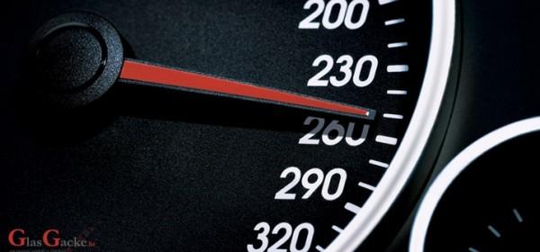 Tijekom vikenda 99 prekršaja prekoračenja dopuštene brzine