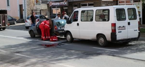 Prometna nezgoda s povređenom osobom