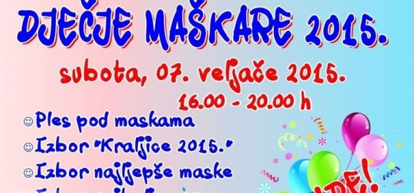 Gospić - Dječje Maškare 2015.