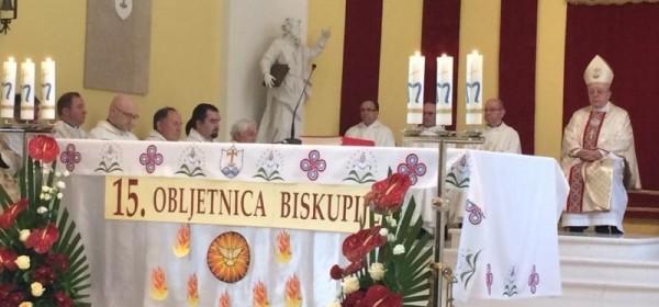 Proslava 15. Obljetnice od osnutka Gospićko-senjske biskupije