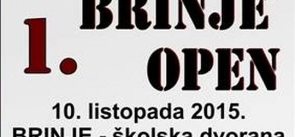 """""""1.Brinje open"""" taekwondo turnir"""