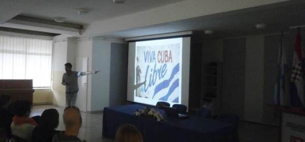 """Putopisno predavanje - """"Cuba na pragu promjena"""""""
