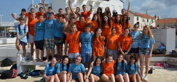 Osmaši proslavili završetak škole u Novalji