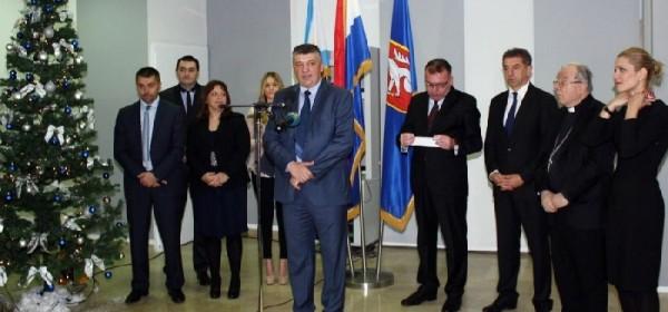 Tradicionalni domjenak župana Kolića i gradonačelnika Gospića Krmpotića