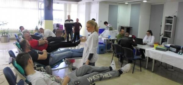 Gospić: Dobrovoljno darivanje krvi
