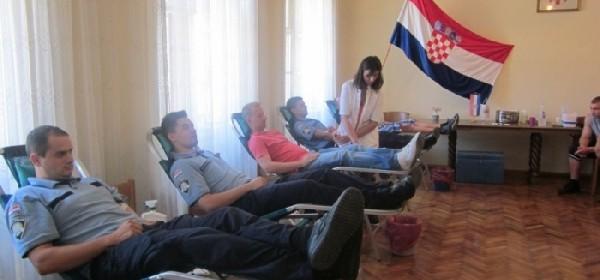 Uz 64 darivatelja krvi i 18 djelatnika MUP-a