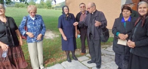 Jučer misa u Dabru