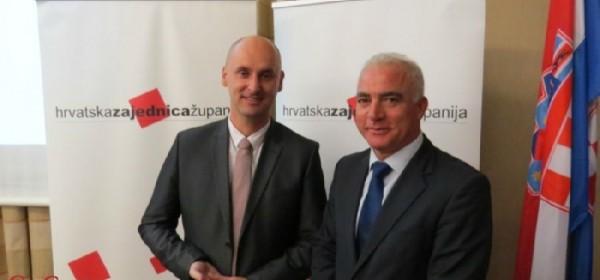 Hrvatska zajednica županija izabrala novo vodstvo
