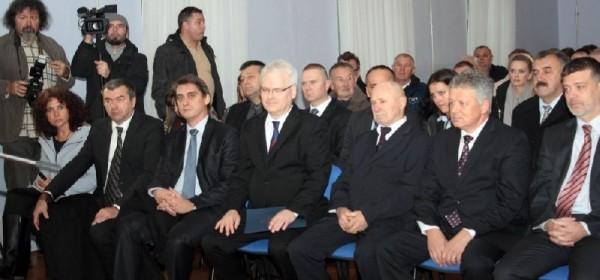 Predsjednik Ivo Josipović u Otočcu