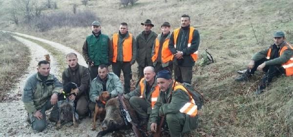 Uspješan lov - odstreljen vepar