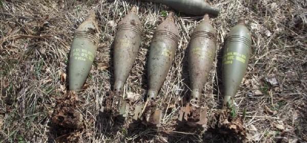 Na Velebitu pronađeno 5 minobacačkih mina