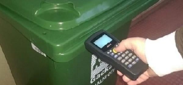 Obavijest o preuzimanju spremnika za otpad (plastične kante 120 l)