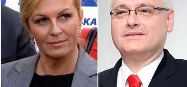 Po prvim izlaznim anketama vode Josipović i Grabar-Kitarović