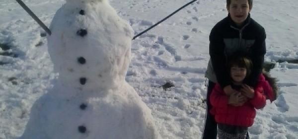 Graditelji snjegovića aktivni...