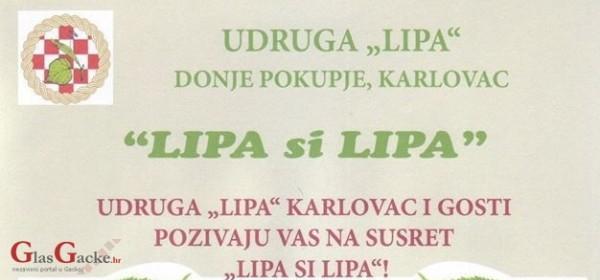 """KUD """"Lipa"""" Sinac na proljetnim promenadama u Karlovcu"""