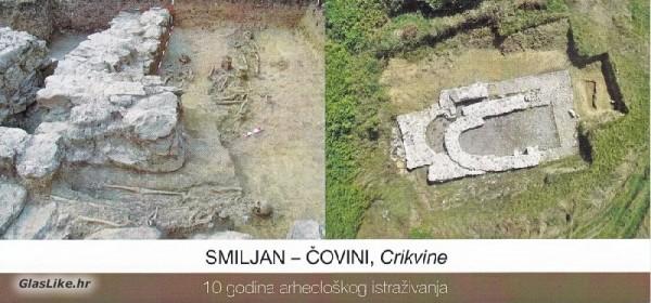 """Izložba """"Smiljan-Čovini"""",Crikvine - 10 godina arheološkog istraživanja"""