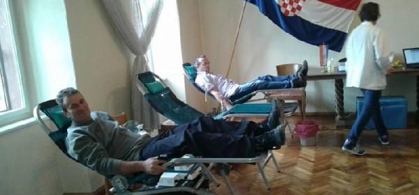 Dobar odaziv dobrovoljnoj akciji darivanja krvi