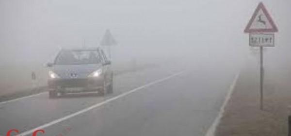 Magla smanjuje vidljivost u Lici
