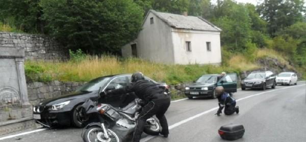 Vozač motociklista teško ozljeđen u Majoriji