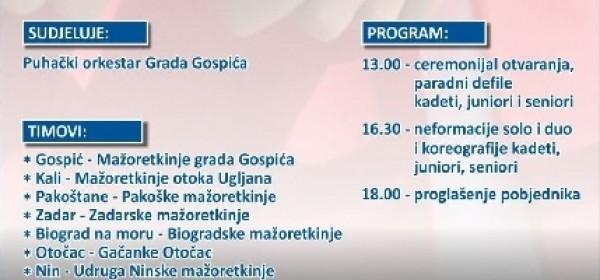 Regionalno prvenstvo mažoret plesa Južne Hrvatske u Gospiću