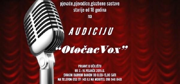 "Audicija - ""OtočacVox"""