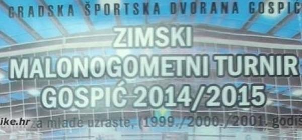 Zimski malonogometni turnir Gospić 2014/2015.